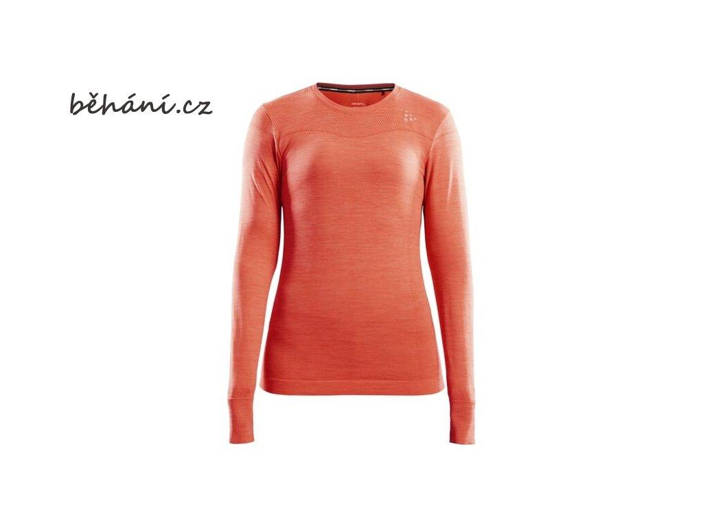 w triko craft fuseknit comfort ls oranzova 6
