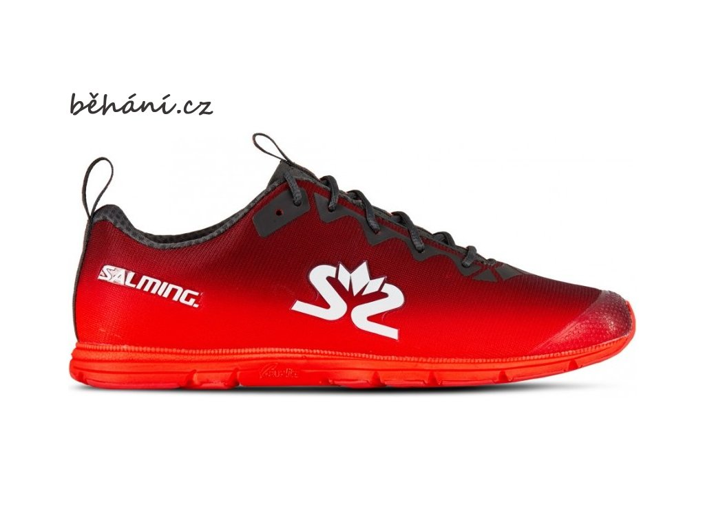 salming race 7 women forged iron poppy red