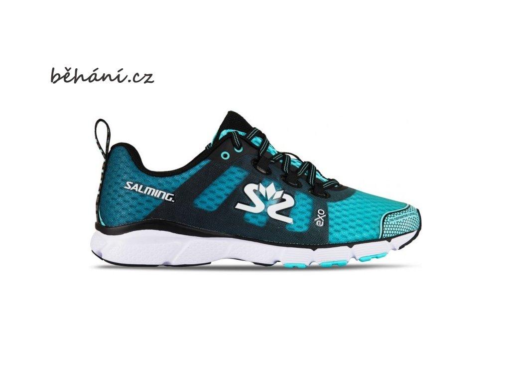 salming enroute 2 shoe women aruba blue black 85 uk