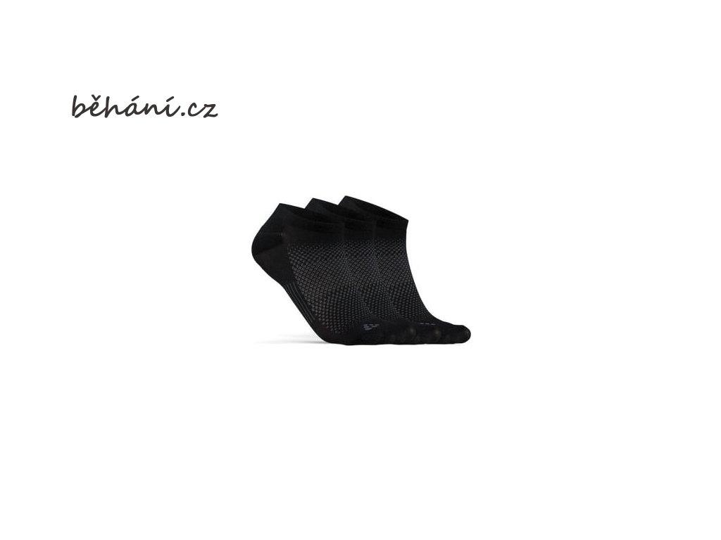 ponozky craft core dry footies 3 pack cerna