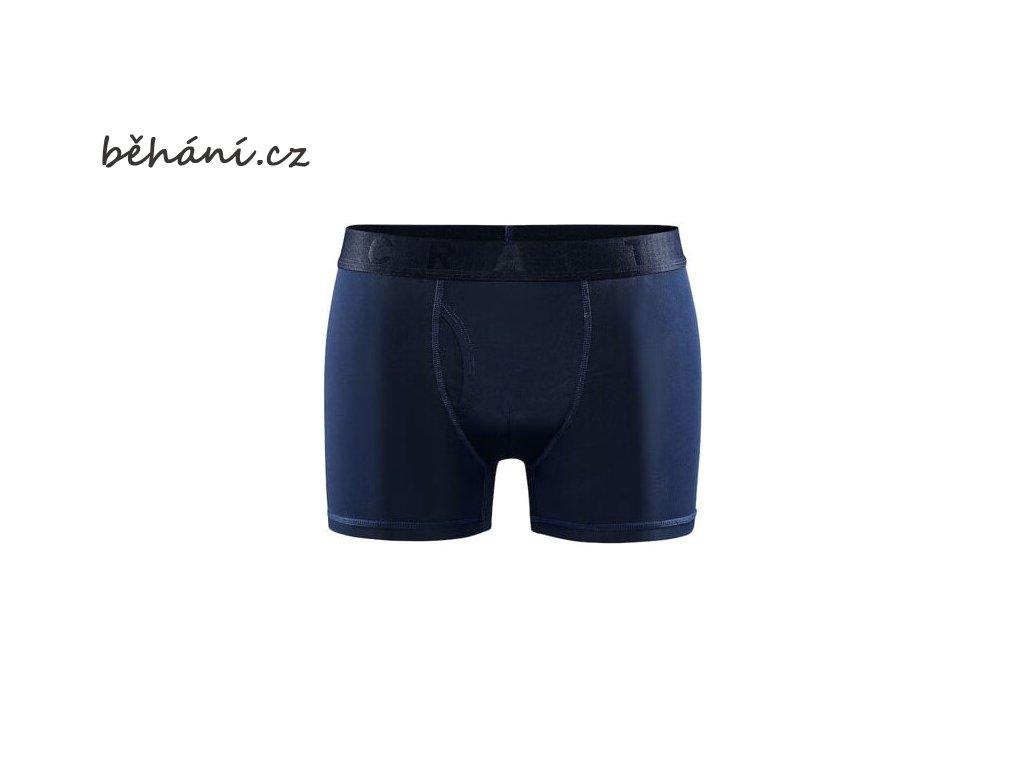 """Běžecké boxerky CRAFT CORE Dry 3"""" - modré"""