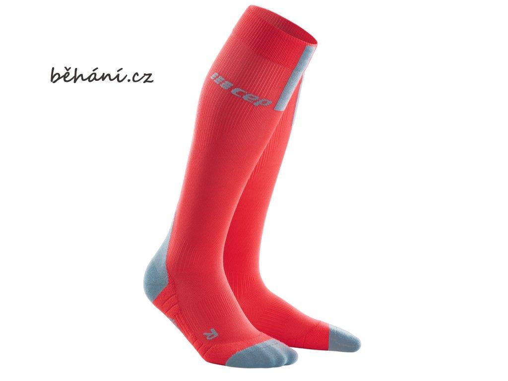 Run Socks 3 0 lava grey WP50JX w front 2