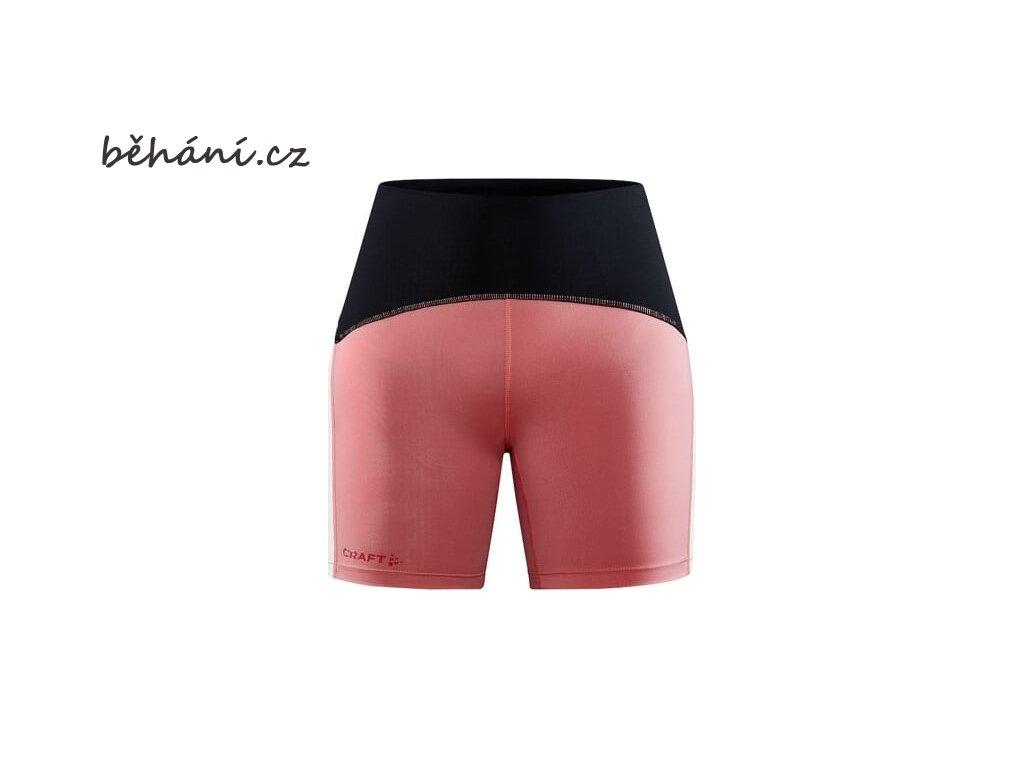 w kalhoty craft pro hypervent short ruzova 4