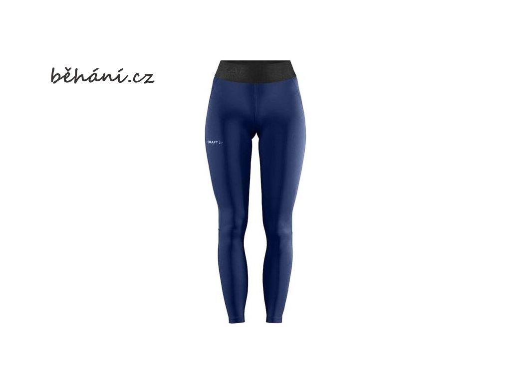 w kalhoty craft core essence tmave modra 4