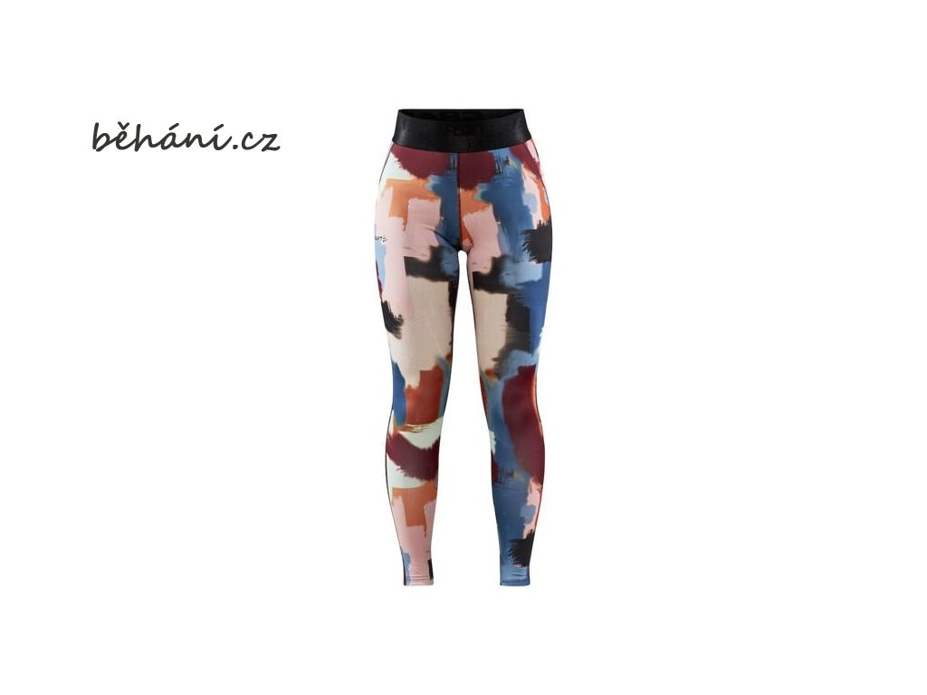 w kalhoty craft core essence modra s oranzovou 4