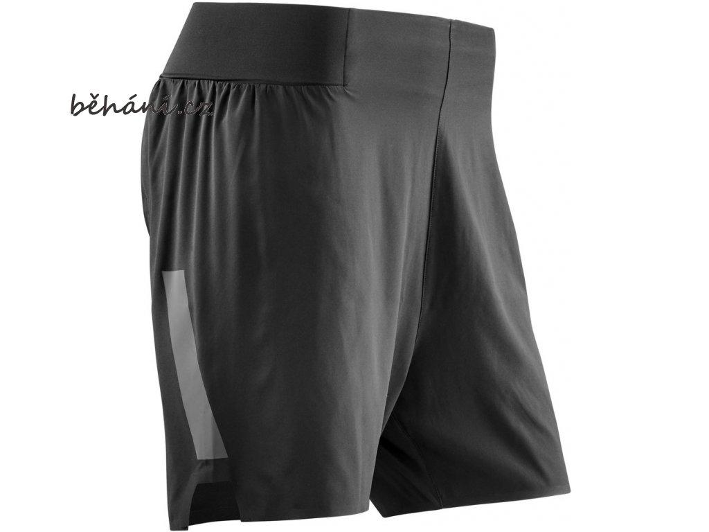 Run Loose Fit Shorts black W11155 m front