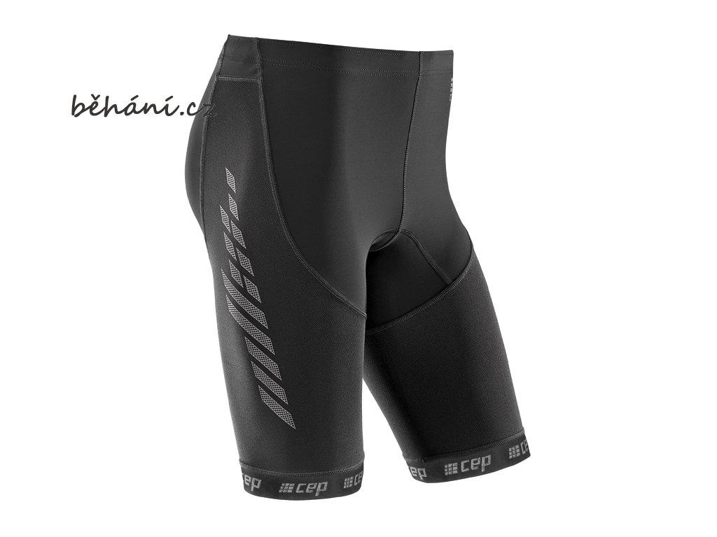 CEP pánské běžecké kompresní šortky 2.0 (Velikost VI (60-75 cm obvod stehna v polovině))