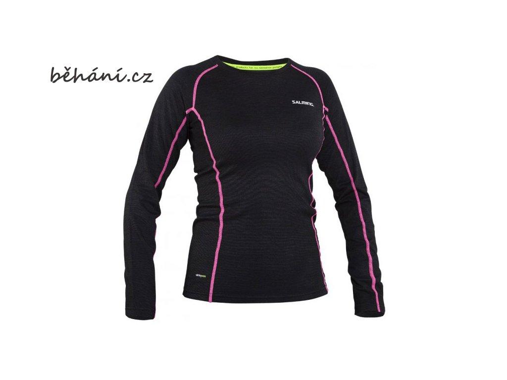 Běžecké tričko Salming Running LS Tee Wool (Velikost textilu XS)