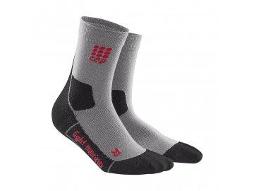 CEP dámské outdoorové ponožky ULTRALIGHT MERINO - volcanic dust (Velikost IV (39-44 cm obvod lýtka))