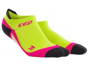 no show socks lime pink w WP467 pair