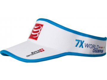 Compressport Visor White COVIS00 0