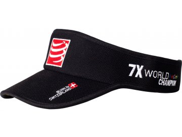 Compressport Visor Cap Running Headwear Black COVIS99ONE