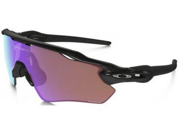 Běžecké sluneční brýle OAKLEY Radar EV Polished Black w/ PRIZM Golf