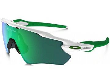 Běžecké sluneční brýle OAKLEY Radar EV Path PolWht w/ Jade Iridium