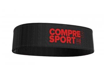 Běžecký pás s kapsami Compressport FREEBELT - černý