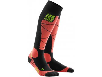 CEP ski merino socks blackcoral WP50HB m WP40HB w pair