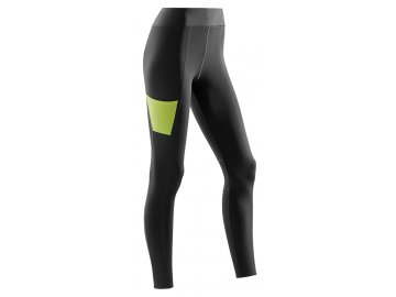 CEP Performance Tights black lime W7H9UC w front 5131d20699
