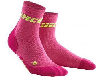 Ultralight Short Socks electric pink WP4BPD w pair