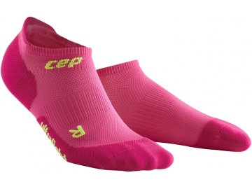 Ultralight No Show Socks electric pink WP46PD w pair