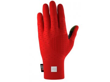 3d thermo rukavice cerveno cerna s m