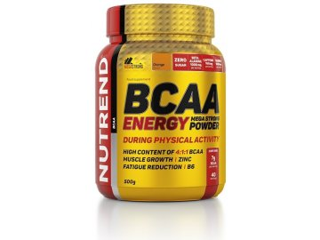 bcaa energy mega strong powder 500g orange