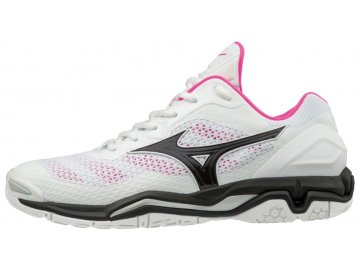 wave stealth v white black pink glo