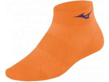 Běžecké ponožky Mizuno Training Mid 67UU95053O - oranžové