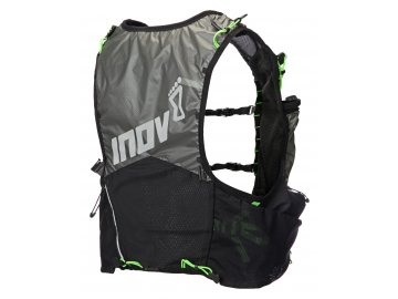 Race Ultra Pro 2in1 Vest Black Green back no bag