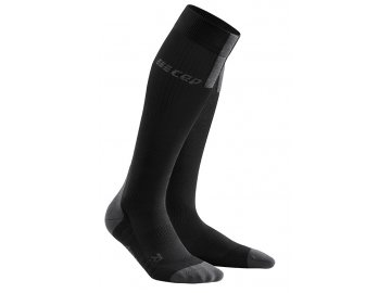 Run Compression Socks 3.0 black dark grey WP50VX m WP40VX w pair front