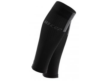 Compression Calf Sleeves 3.0 black grey WS50VX m WS40VX w pair front