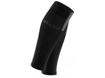 Compression Calf Sleeves 3.0 black grey WS50VX m WS40VX w pair front