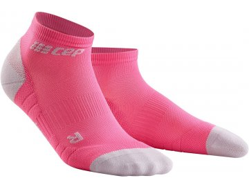 Compression Low Cut Socks 3.0 rose light grey WP4AGX w pair front