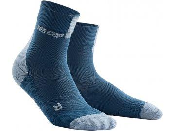 Compression Short Socks 3.0 blue grey WP5BDX m WP4BDX w pair front