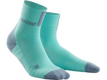 Compression Short Socks 3.0 ice grey WP5BFX m WP4BFX w pair front