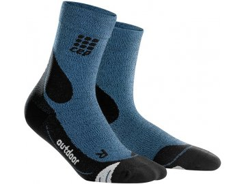 CEP Outdoor Merino Mid Cut Socks desert sky WP4CD4 w WP5CD4 m pair