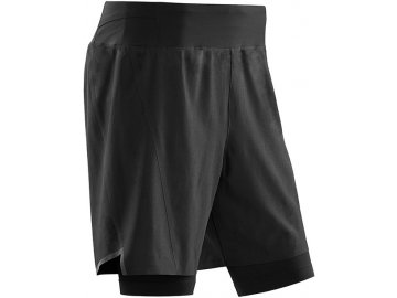 Run 2in1 Shorts black W9115K m front sba