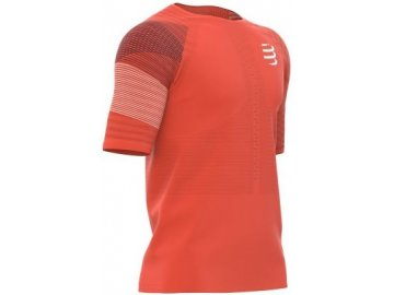racing ss tshirt man blood orange s