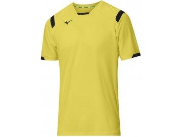 mizuno premium handball shirt jaune