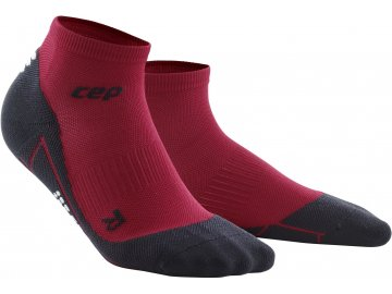 Training Compression Low Cut Socks cardiocherry WP4A8K front 2