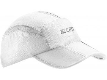 CEP běžecká kšiltovka - bílá