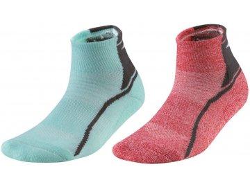 Běžecké ponožky Mizuno ACTIVE TRAINING MID J2GX9A5130 - dva páry