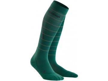 Reflective Socks green WP40GZ WP50GZ front 2
