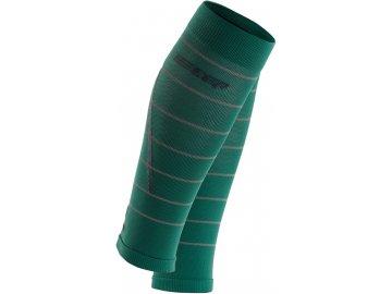Reflective Calf Sleeves green WS40GZ WS50GZ front 2