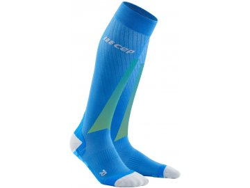 Ultralight Pro Compression Socks electricblue lightgrey WP40KQ WP50KQ front 2