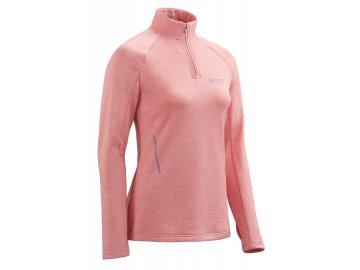Winter Run Shirt LS rose melange W0A3A9 w front