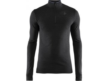Běžecké tričko CRAFT Fuseknit Comfort Zip