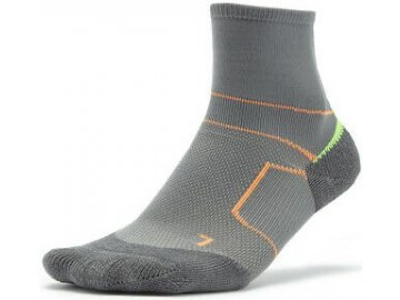 Mizuno Mens ER Trail Socks Grey Sports Running