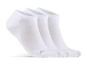 ponozky craft core dry footies 3 pack bila (1)