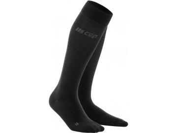 Allday Merino Compression Socks anthracite WP40C6 WP50C6 front 2 (1)