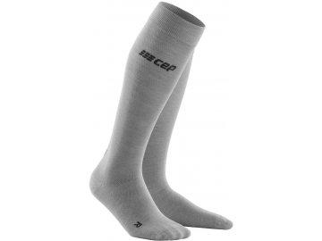 Allday Merino Compression Socks lightgrey WP40X6 WP50X6 front 2